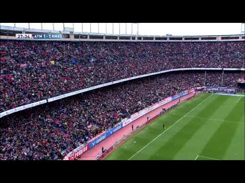 Gol de Koke (1-1) Atlético de Madrid - Real Madrid - HD