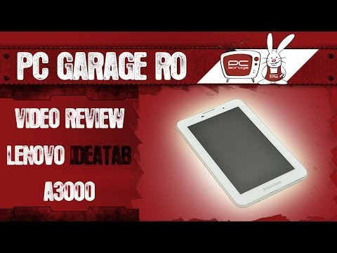 PC Garage - Video Review Tableta Lenovo IdeaTab A3000