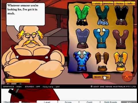 Swords and Sandals hacked