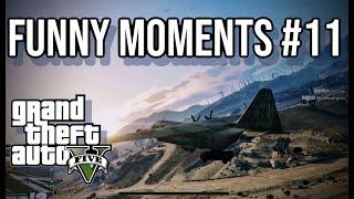 GTA 5 Online - Funny Moments #11