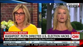 """Russia, Russia"", Kellyanne Conway Pulls Plug On Desperate CNN Breathing Last Gasps. Pleez Lay Off CNN! (Video)"