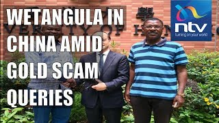 Gold scam: Who allowed Wetangula to travel to China? Midiwo's hard questions