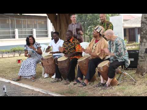 blood drum spirit at WEB DuBois Center Accra 2