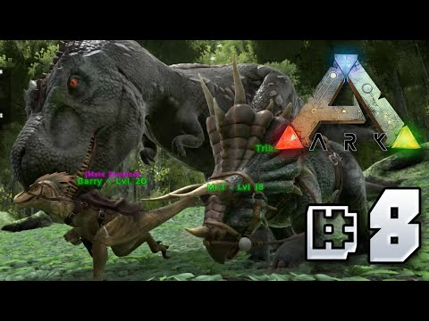 Tamming a T.rex! - Ark Survival Evolved    Ep 8