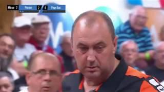 Championnat d'Europe pétanque 2017 - demi finale France vs Pays-Bas