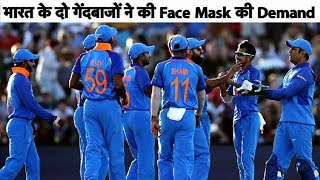 India Bowlers Call for Face-Mask after Ashok Dinda's injury | Sports tak