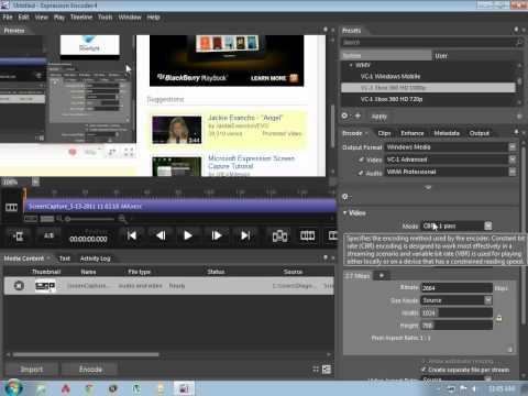 How To Upload Microsoft Expression Encoder 4 To Youtube + Bonus Key!! Key In Description!!! video
