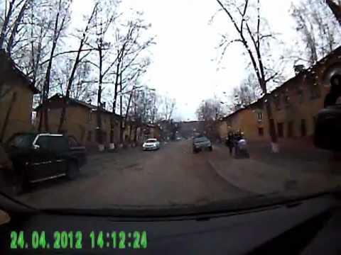 Авария Кутузова 14-30 24.04.12.