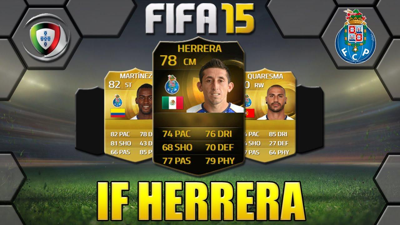 FIFA 15 INFORM HERRERA PLAYER