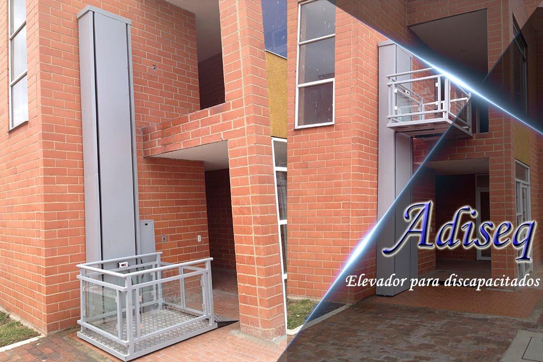 Ascensor para discapacitados adiseq youtube for Sillas para discapacitados