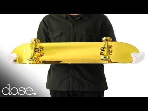 The Golden Skateboard