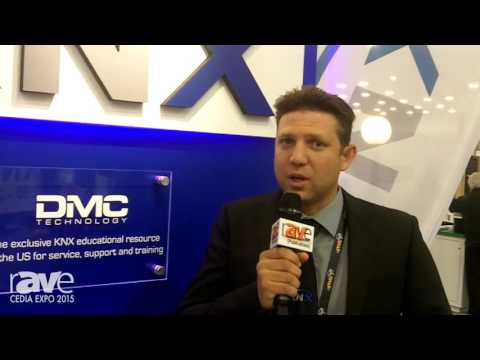 CEDIA 2015: DMC Technology Talks About KNX's Usefulness for LEED Energy Management