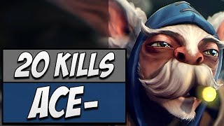 Secret.Ace Meepo with an Exceptional 20-KILL GAME   Dota Gameplay