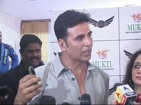 Akshay Kumar supports Self Defence training for Women : An initiave by Mukti Foundation