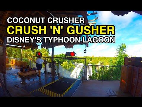 [4K] Crush 'n' Gusher - Coconut Crusher : Typhoon Lagoon (Orlando, FL)
