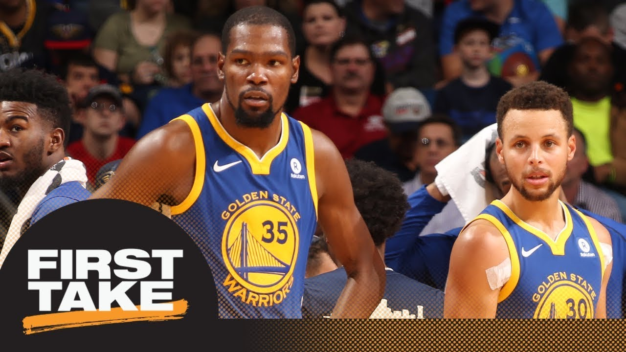 Kevin Durant or Steph Curry: Which player is more important to the Warriors? | First Take | ESPN