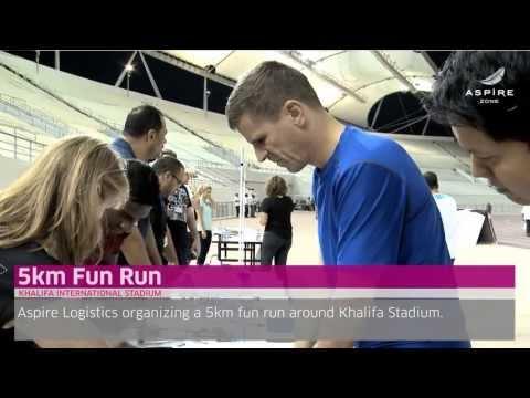 5km Fun Run & In The Zone events