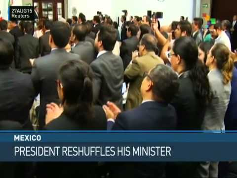 Mexico: President Reshuffles Cabinet