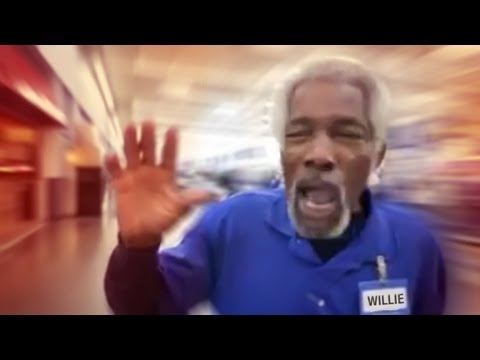 Mr. Willie - BAM!   Wal-Mart greeter remix