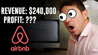 IN 1 MONTH: How Much Did I PROFIT From Airbnb on $240,000 in airbnb business revenue.