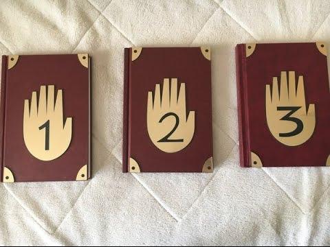 Обзор на все дневники из гравити фолз I 1,2,3 дневники
