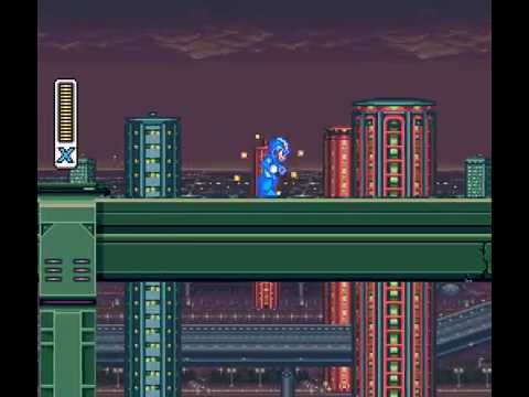 Mega Man X - Megaman X1 Walkthrough Pt1 - User video