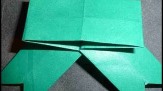 How To Make Green Leaf Ribbon Banner Origami For Gifts  Bandera Cinta