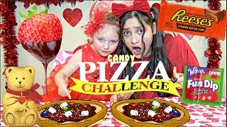 VALENTINES day PIZZA CHALLENGE! CANDY - COOKIES and COUNTRY MUSIC! The TOYTASTIC Sisters