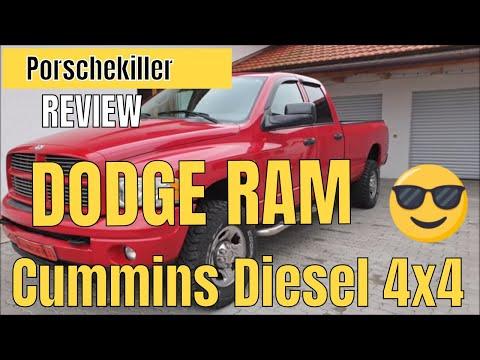 Dodge Ram 2500 Diesel 4x4 Review / 305 PS / Das Monster auf Rädern der Dodge Ram