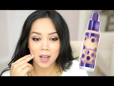 NEW Physicians Formula Spotless Foundation first impression review - itsjudytime
