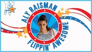 Aly Raisman Flippin' Awesome Ep. 1_ Stick It