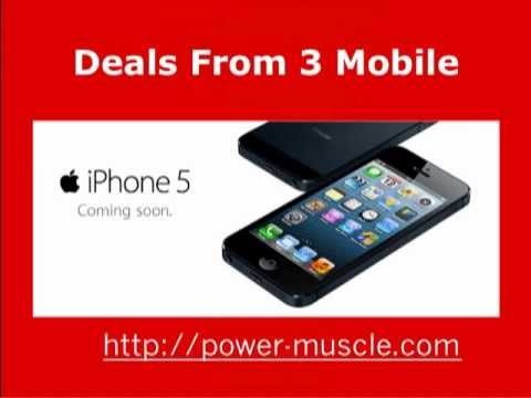 Power Muscle iphone5 Plans From 3 Mobile