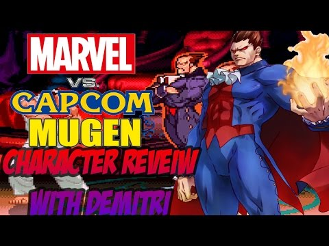 Marvel vs  Capcom M.U.G.E.N: Character Review w/ Demitri
