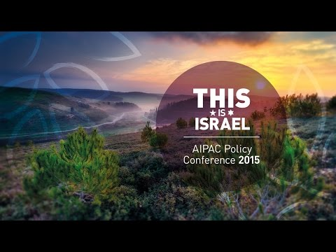 AIPAC PC 2015 Monday Morning Session