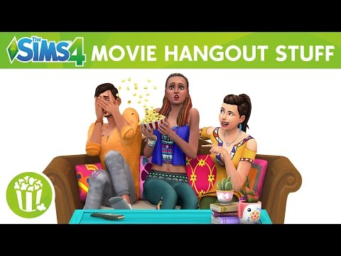 The Sims 4 Movie Hangout Stuff: Official Trailer