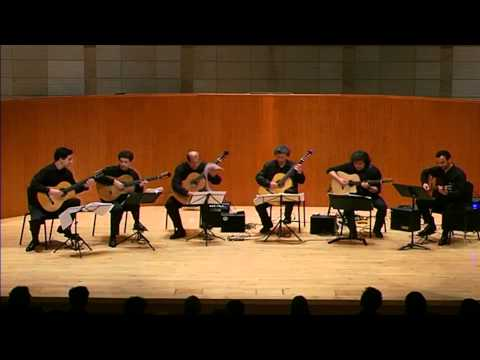The Pacific Guitar Ensemble plays Grand Solo by Fernando Sor (Arr. Sergio Assad)