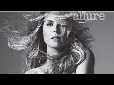 Heidi Klum's Nude Photo Shoot For Allure Magazine! video
