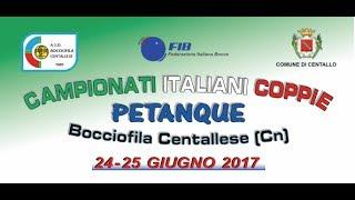 Presentazione Campionati Italiani a coppie - Petanque