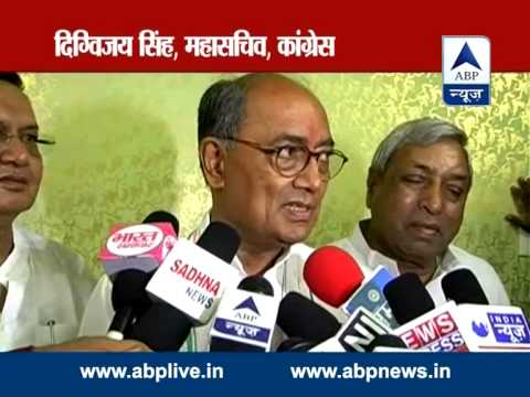 ABP LIVE: Allegations on Rajnath's son should be specified, says Digvijay Singh