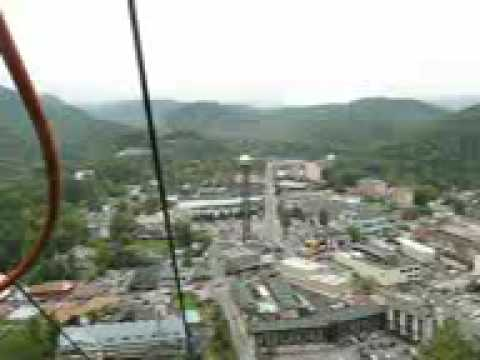 Chair lift ride Gatlinburg, TN