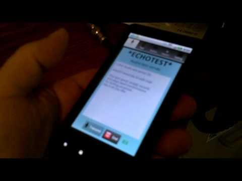 Android - Echolink on the Droid X