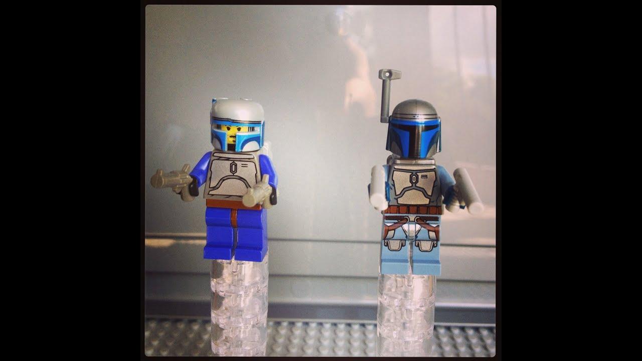 Lego Jango Fett 2013 Lego Star Wars Jango Fett 2002