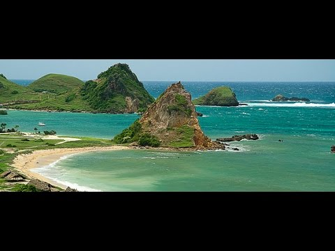 The beauty of South coast beaches - Lombok island - Indonesia
