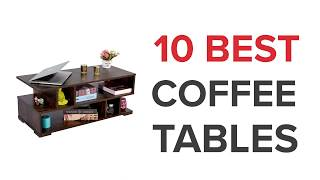 10 Best Coffee Tables in India with Price