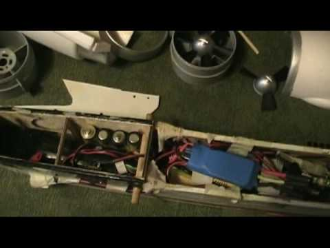 Vista EP FPV Part 2 - Sailpane Ducted Fan Mod -