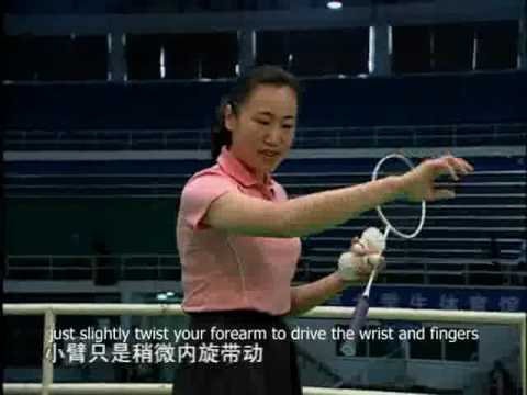 Badminton Shots Tricks Badminton Backhand Tricks
