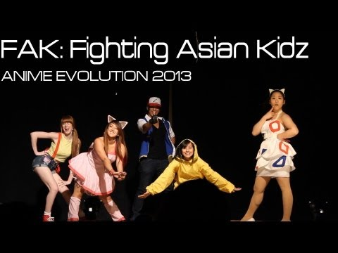 Anime Evolution 2013  - Pokemon Dance Battle Fak video