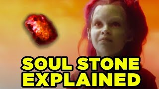 SOUL STONE Explained- Soul World & Gamora's Fate Revealed?