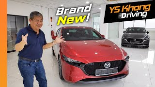 Mazda 3 2019,  New from the Ground Up - Preview before Launch | YS Khong Driving