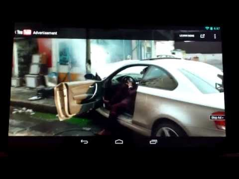 Amazon kindle fire running android 4.2.2